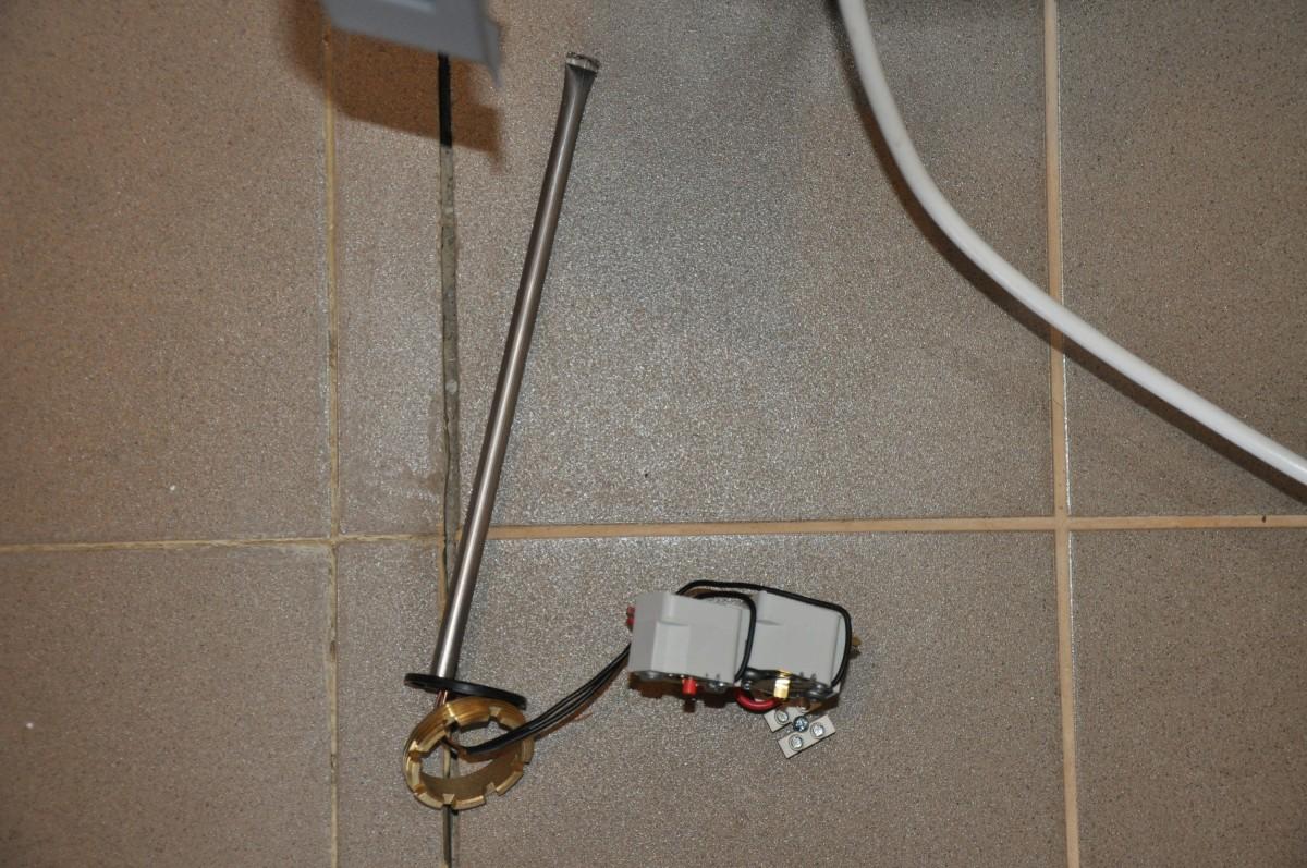 ТЭН для газового пнагревателя в Бойлере косвенного нагрева