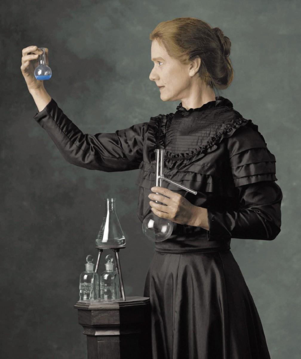 Открытие Радия Марией Кюри