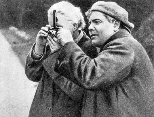 Петр Новицкий - фотограф Ленина
